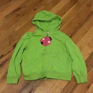 Gymboree zip up hooded jacket